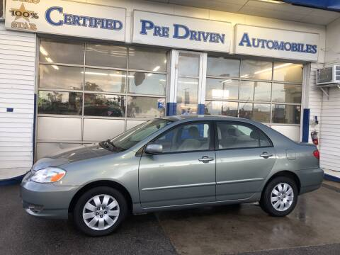 2003 Toyota Corolla for sale at Jack E. Stewart's Northwest Auto Sales, Inc. in Chicago IL