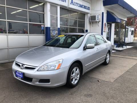 2006 Honda Accord for sale at Jack E. Stewart's Northwest Auto Sales, Inc. in Chicago IL