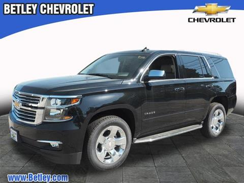 2017 Chevrolet Tahoe for sale in Derry, NH