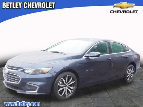 2018 Chevrolet Malibu for sale in Derry, NH