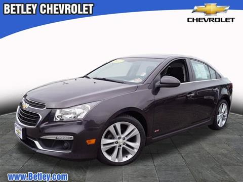 2015 Chevrolet Cruze for sale in Derry, NH
