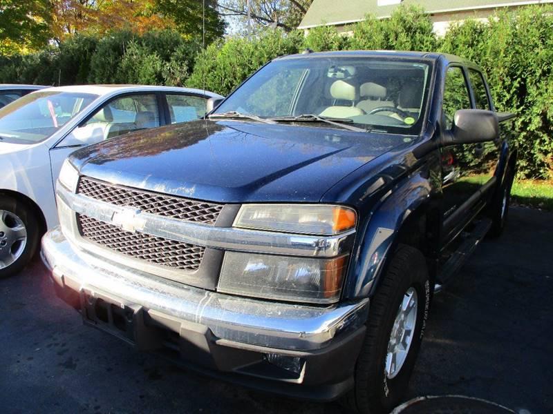 2004 Chevrolet Colorado 4dr Crew Cab Z71 Ls 4wd Sb In Springfield Wi