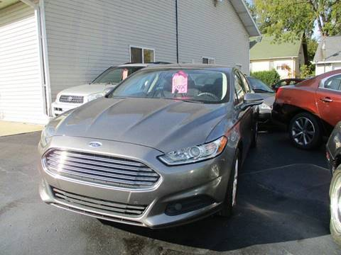2013 Ford Fusion for sale in Springfield, WI