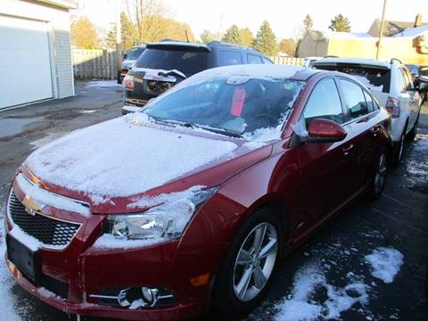2012 Chevrolet Cruze for sale in Springfield, WI