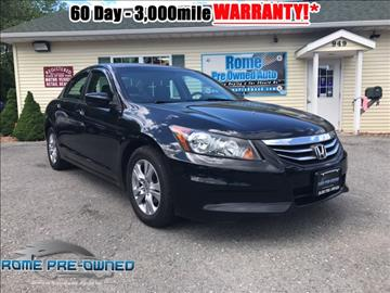 2011 Honda Accord for sale in Rome, NY