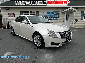 2012 Cadillac CTS for sale in Rome, NY