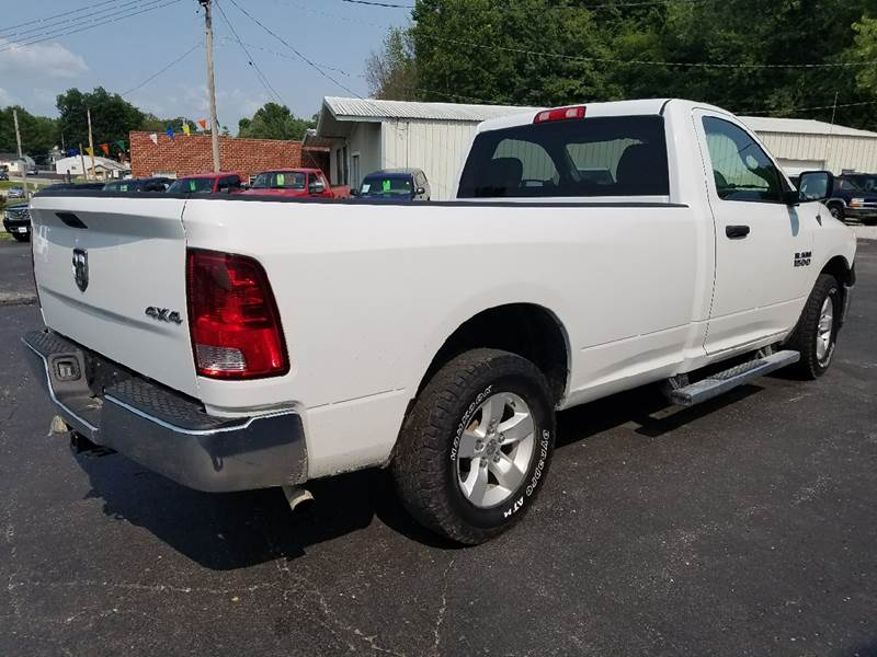 2014 RAM Ram Pickup 1500 4x4 Tradesman 2dr Regular Cab 8 ft. LB Pickup - Boonville MO