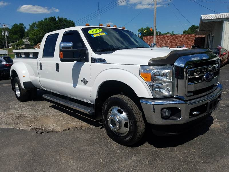 2013 ford f-350 super duty 4x4 xlt 4dr crew cab 8 ft. lb drw pickup