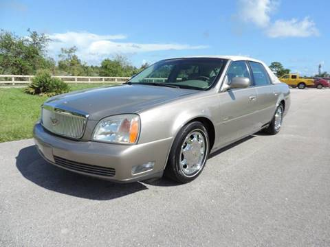 2001 Cadillac DeVille for sale in Pompano Beach, FL