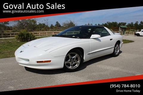 1997 Pontiac Firebird for sale in Pompano Beach, FL