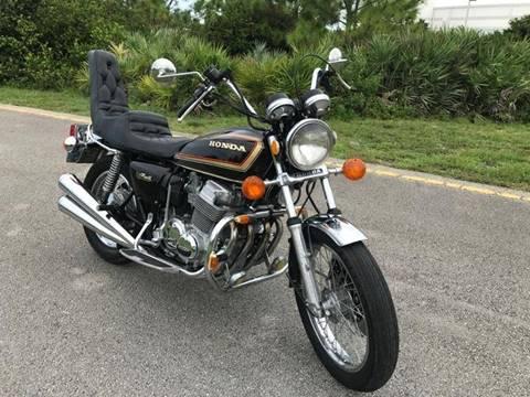 1977 Honda CB 750K for sale at Goval Auto Sales in Pompano Beach FL