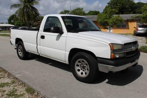 2005 Chevrolet Silverado 1500 for sale at Goval Auto Sales in Pompano Beach FL