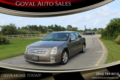 2006 Cadillac STS for sale at Goval Auto Sales in Pompano Beach FL