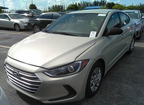 2017 Hyundai Elantra for sale at Goval Auto Sales in Pompano Beach FL