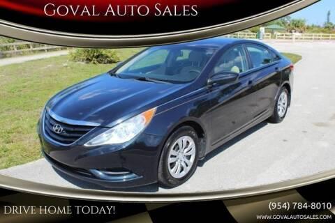 2011 Hyundai Sonata for sale at Goval Auto Sales in Pompano Beach FL