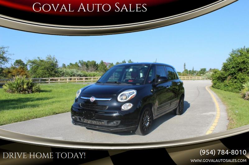 2014 FIAT 500L for sale at Goval Auto Sales in Pompano Beach FL
