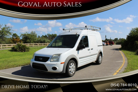 2010 Ford Transit Connect for sale at Goval Auto Sales in Pompano Beach FL