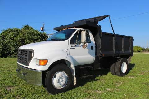 2001 Ford F-650 Super Duty for sale at Goval Auto Sales in Pompano Beach FL