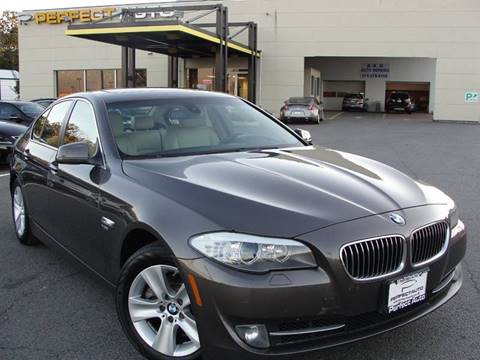 2012 BMW 5 Series for sale in Manassas, VA