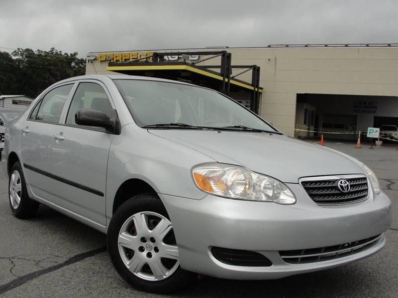 2008 Toyota Corolla For Sale At Perfect Auto In Manassas VA