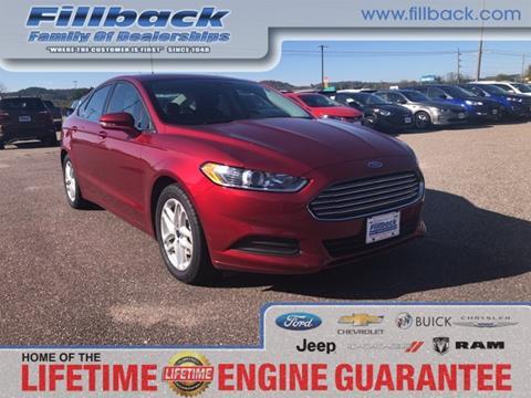 2016 Ford Fusion for sale in Boscobel, WI