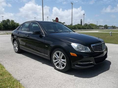 2012 Mercedes-Benz C-Class for sale in Delray Beach, FL