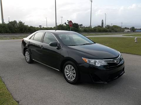 2013 Toyota Camry for sale in Delray Beach, FL