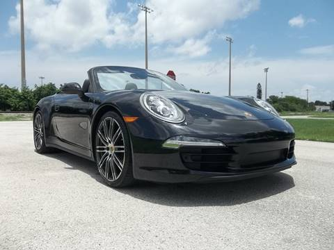 2016 Porsche 911 for sale at DELRAY AUTO MALL in Delray Beach FL