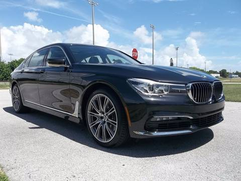 2017 BMW 7 Series for sale in Delray Beach, FL