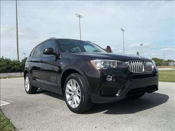 2016 BMW X3 for sale in Delray Beach, FL