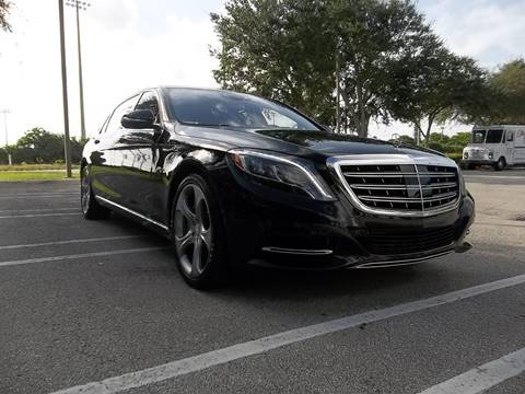 2016 Mercedes-Benz S-Class for sale at DELRAY AUTO MALL in Delray Beach FL