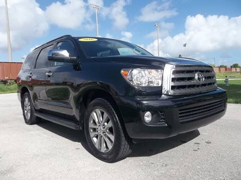 2016 Toyota Sequoia for sale in Delray Beach, FL