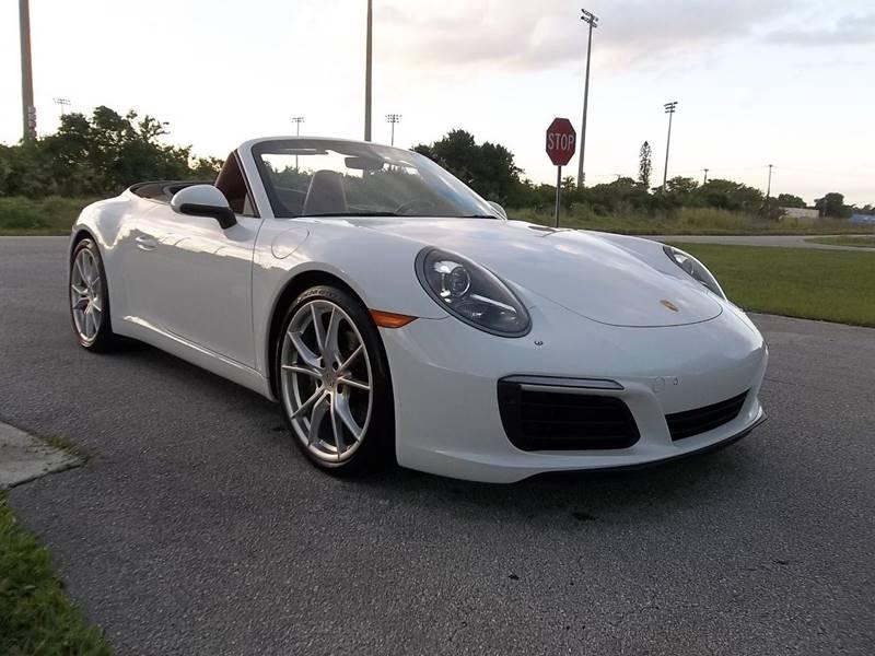 2017 Porsche 911 for sale at DELRAY AUTO MALL in Delray Beach FL