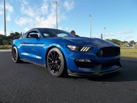 2017 Ford Mustang for sale at DELRAY AUTO MALL in Delray Beach FL