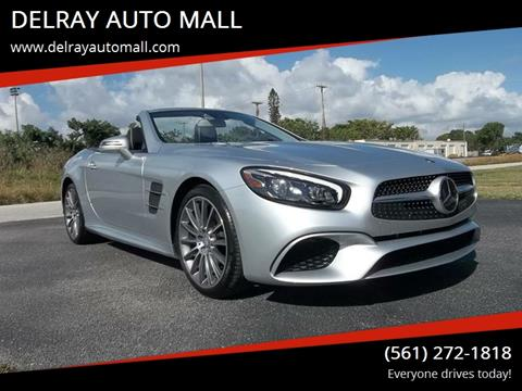 2017 Mercedes-Benz SL-Class for sale at DELRAY AUTO MALL in Delray Beach FL