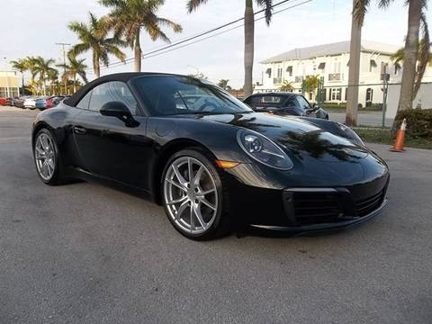 2018 Porsche 911 for sale at DELRAY AUTO MALL in Delray Beach FL