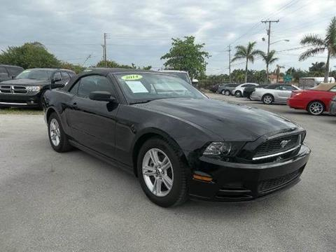 2014 Ford Mustang for sale in Delray Beach, FL