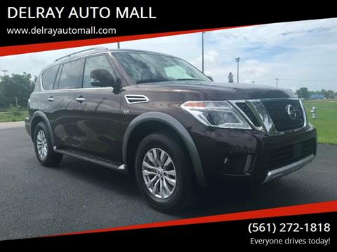 2018 Nissan Armada for sale at DELRAY AUTO MALL in Delray Beach FL