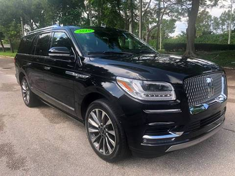 2019 Lincoln Navigator L for sale in Delray Beach, FL