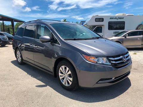 2016 Honda Odyssey for sale at DELRAY AUTO MALL in Delray Beach FL