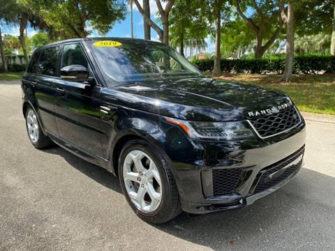 2019 Land Rover Range Rover Sport for sale in Delray Beach, FL