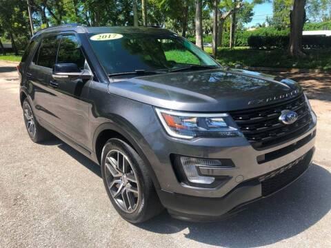 2017 Ford Explorer for sale at DELRAY AUTO MALL in Delray Beach FL