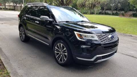 2019 Ford Explorer for sale at DELRAY AUTO MALL in Delray Beach FL
