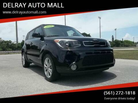 2016 Kia Soul for sale at DELRAY AUTO MALL in Delray Beach FL