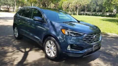 2019 Ford Edge for sale at DELRAY AUTO MALL in Delray Beach FL