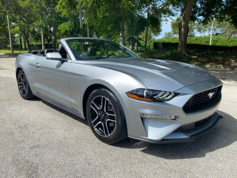 2020 Ford Mustang for sale at DELRAY AUTO MALL in Delray Beach FL