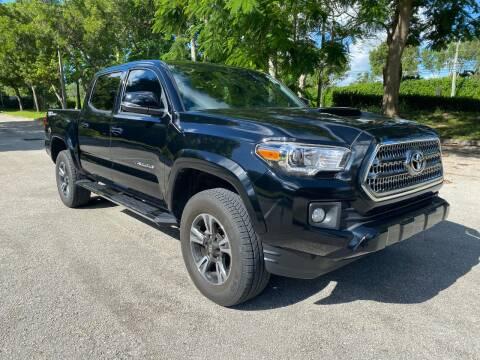 2017 Toyota Tacoma for sale at DELRAY AUTO MALL in Delray Beach FL