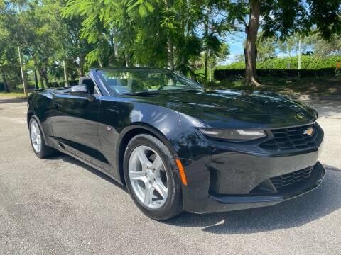 2019 Chevrolet Camaro for sale at DELRAY AUTO MALL in Delray Beach FL