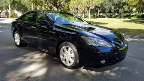 2007 Lexus ES 350 for sale at DELRAY AUTO MALL in Delray Beach FL