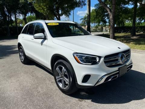 2020 Mercedes-Benz GLC for sale at DELRAY AUTO MALL in Delray Beach FL